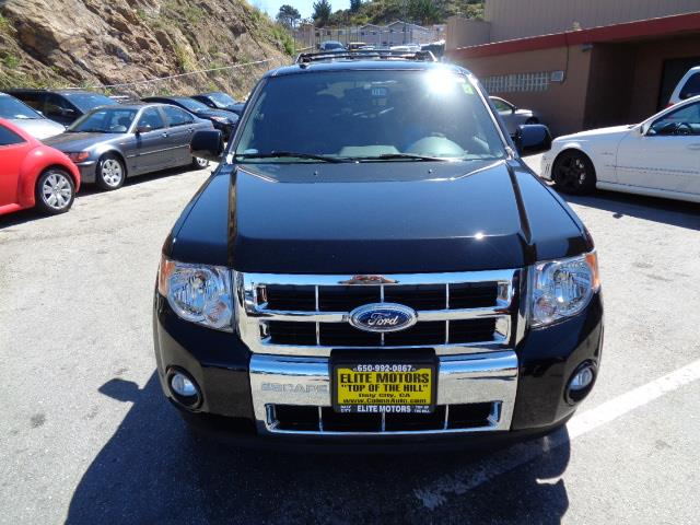 2012 FORD ESCAPE LIMITED 4DR SUV black limited leather heated seats moon roof immaculate cond