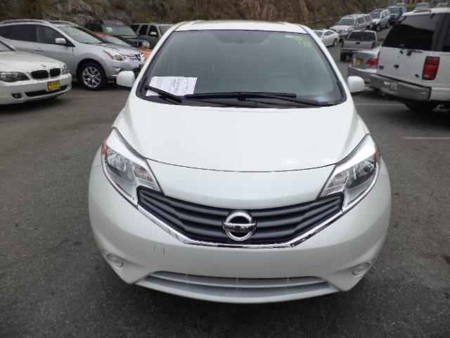 2014 NISSAN VERSA NOTE NOTE S HATCHBACK pearl white warranty 9273 miles VIN 3N1CE2CP4EL388785