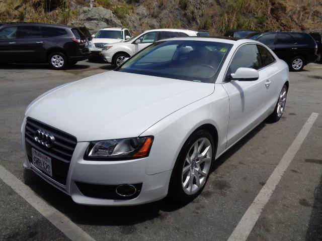 2012 AUDI A5 20T QUATTRO PREMIUM AWD 2DR COU suzuka grey one owner lease return from audi financi