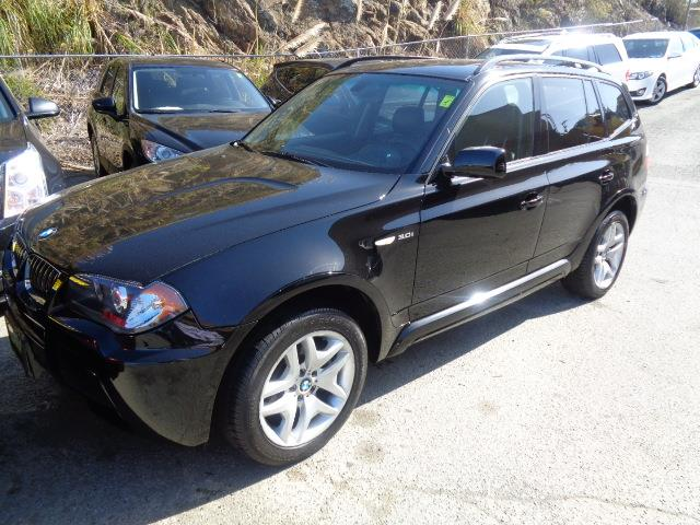 2006 BMW X3 30I AWD 4DR SUV black m sport package premium package cold weather package m sport