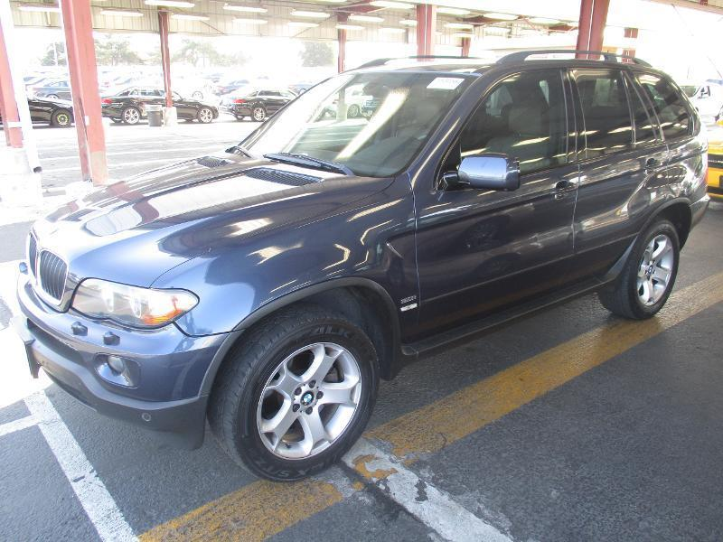 2006 BMW X5 30I AWD 4DR SUV toledo blue air filtrationcenter console trim - wooddash trim - wo