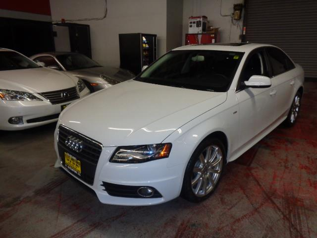 2012 AUDI A4 20T PREMIUM PLUS 4DR SEDAN suzuka grey navigation s-line package ipod integration