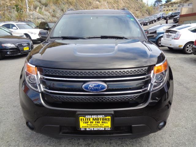 2015 FORD EXPLORER LIMITED AWD 4DR SUV black third row seats leather 31944 miles VIN 1FM5K8F8