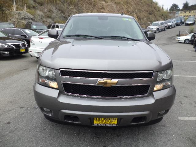 2007 CHEVROLET TAHOE LTZ 4DR SUV 4WD pewter metallic leather navigation moon roof dvd 3rd seat