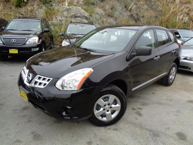 2013 NISSAN ROGUE S SPORT UTILITY black 60970 miles VIN JN8AS5MT8DW525654