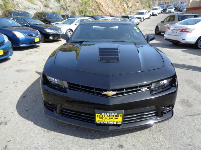 2014 CHEVROLET CAMARO SS 2DR COUPE W2SS black door handle color - body-colorexhaust - dual exha