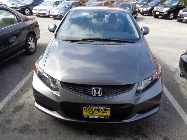 2012 HONDA CIVIC LX 2DR COUPE 5A polished metal metallic bumper color - body-colordoor handle co