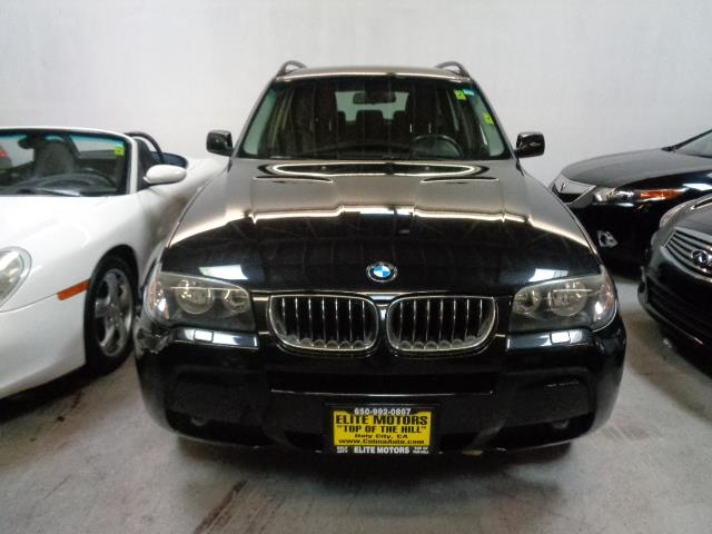 2006 BMW X3 30I AWD 4DR SUV black sapphire panoramic roof xenon headlights full leather heated