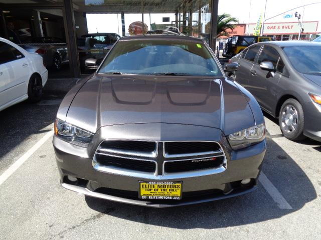 2014 DODGE CHARGER SXT 4DR SEDAN graphite grey black painted roofdoor handle color - body-color