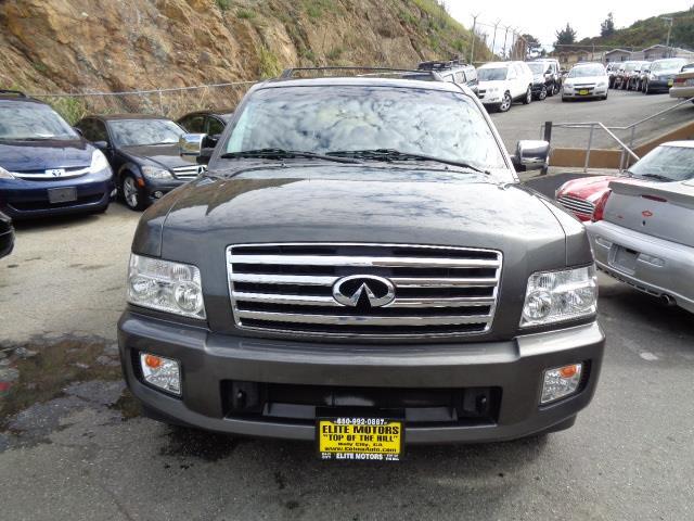 2007 INFINITI QX56 BASE 4DR SUV 4WD diamond graphite navigation heated seats backup camera moo