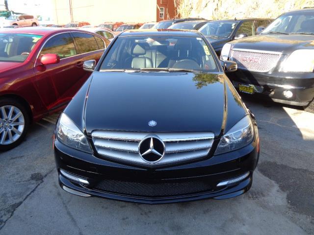 2011 MERCEDES-BENZ C-CLASS C300 SPORT 4MATIC AWD 4DR SEDAN black navigation heated seats capri bl
