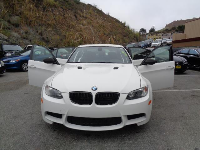 2011 BMW M3 BASE M3 4DR SEDAN pearl white rare  4 doors like new navigation system 34417 miles