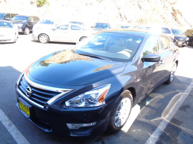 2013 NISSAN ALTIMA 25 S 4DR SEDAN blue grey metallic door handle color - chromeexhaust - dual e
