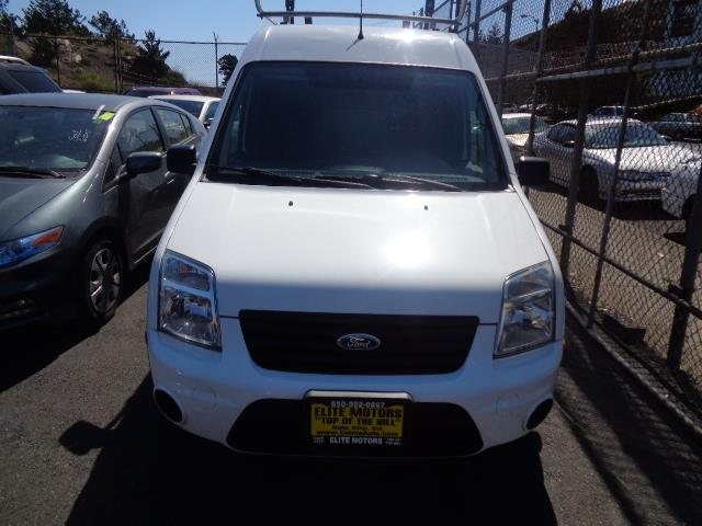 2012 FORD TRANSIT CONNECT CARGO VAN XLT 4DR MINI WO SIDE white body side moldingsbumper color -