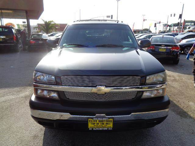 2006 CHEVROLET AVALANCHE LS 1500 4DR CREW CAB SB graphite grey leather moon roof floor mat mater