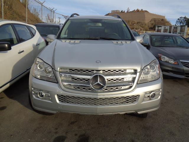 2007 MERCEDES-BENZ GL-CLASS GL450 AWD 4MATIC 4DR SUV brilliant silver rear spoilerair filtration