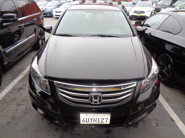 2012 HONDA ACCORD SE 4DR SEDAN black leather heated seats bumper color - body-colordoor handle
