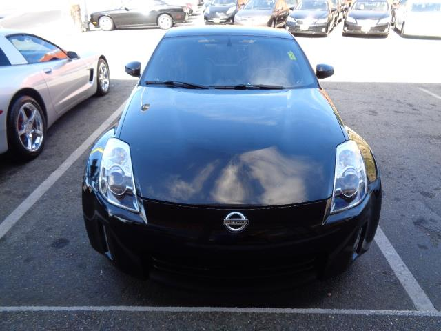 2008 NISSAN 350Z TOURING 2DR HATCHBACK 35L V6 5 black top nogaro redpainted splash guards 4 p