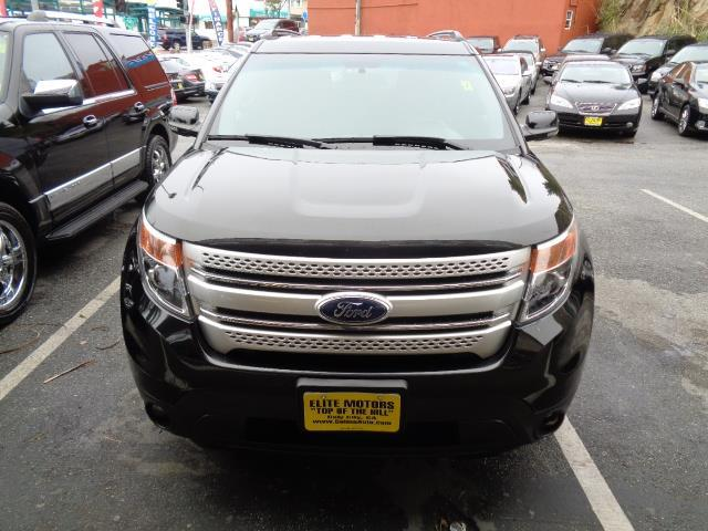 2011 FORD EXPLORER XLT 4DR SUV black bumper color - two-tonedoor handle color - chromeexhaust -