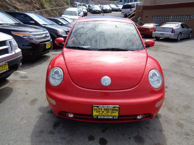 2003 VOLKSWAGEN NEW BEETLE GLS 18T 2DR HATCHBACK red 4 brand new tires redblack leather interi