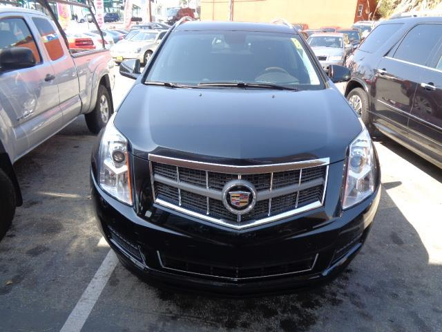 2012 CADILLAC SRX LUXURY COLLECTION 4DR SUV black navigation panoramic roof heated seats bumper