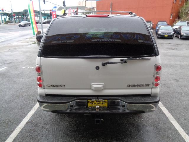 2002 CHEVROLET TAHOE LT 4WD 4DR SUV white 4wd leather seats bumper color - chromerunning boards