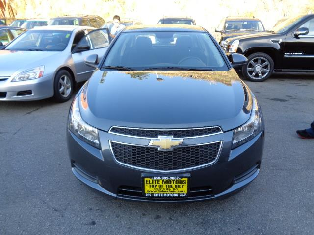 2013 CHEVROLET CRUZE 1LT AUTO 4DR SEDAN W1SD graphite grey warranty black granite metallic paint