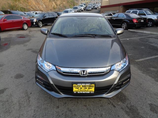 2013 HONDA INSIGHT BASE 4DR HATCHBACK polished metal metallic bumper color - body-colordoor handl