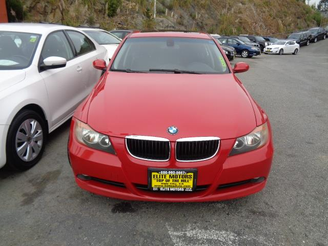 2007 BMW 3 SERIES 328I 4DR SEDAN crimson red navigation sport package air filtration - active ch