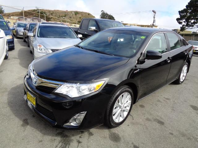 2014 TOYOTA CAMRY HYBRID XLE attitude black metallic warranty navigation bluetooth 16064 mile