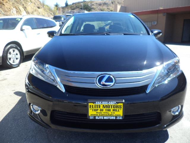 2011 LEXUS HS 250H HS HYBRID black navigationbackup camera factory warranty lease return from l