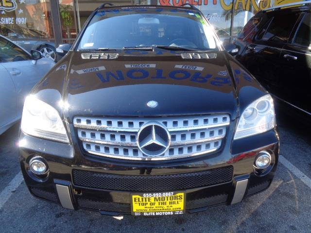 2008 MERCEDES-BENZ M-CLASS ML550 AWD 4MATIC 4DR SUV black navigation running boards - stepair f