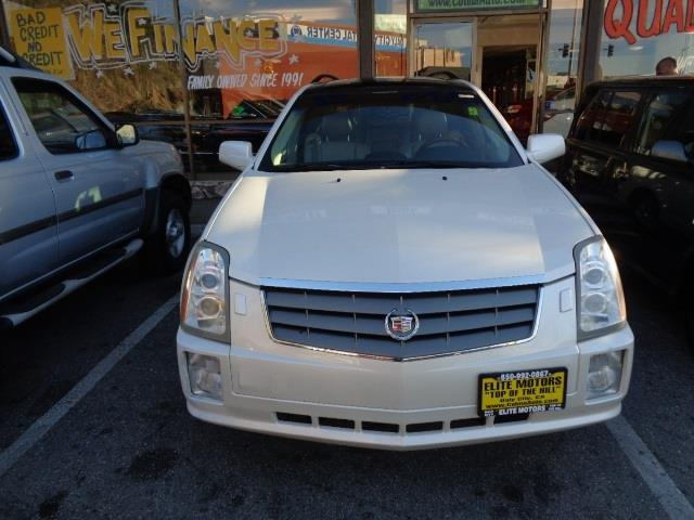 2004 CADILLAC SRX white diamond navigation heated seats panoramic roof 3rd row seat 129793 mi