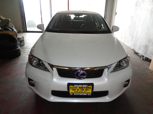 2012 LEXUS CT 200H starfire pearl navigation heated seats backup camera 20818 miles VIN JTH