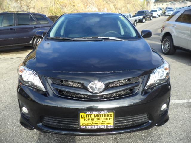 2013 TOYOTA COROLLA S SEDAN black sand pearl s sedan factory warranty rear spoiler 2634 mpg 1