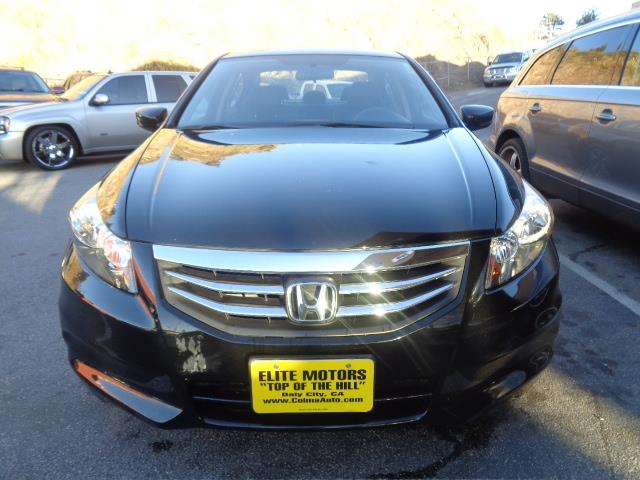 2012 HONDA ACCORD SE 4DR SEDAN black air conditioning alarm power steering power windows powe