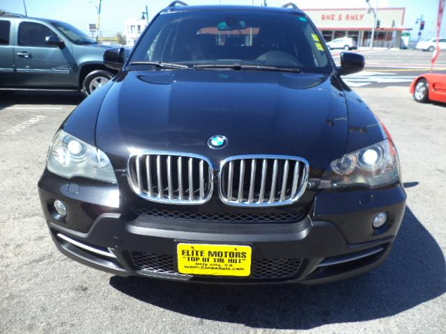 2007 BMW X5 48I AWD 4DR SUV jet black heated seats  navigation sport package 3rd row seatspa