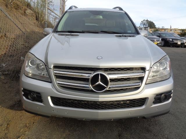 2008 MERCEDES-BENZ GL-CLASS GL450 AWD 4MATIC 4DR SUV brilliant silver air filtration - active char