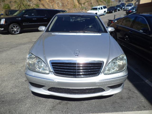 2006 MERCEDES-BENZ S-CLASS S55 AMG 4DR SEDAN brilliant silver supercharged amg s55 loaded with na