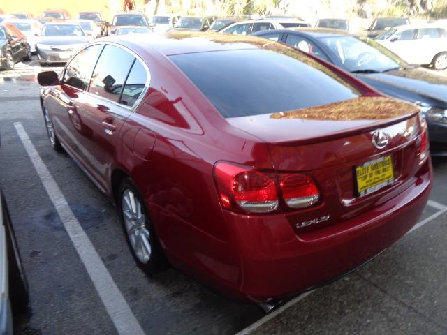 2006 LEXUS GS 300 BASE 4DR SEDAN matador red rear spoilerair filtrationcenter console trim - woo