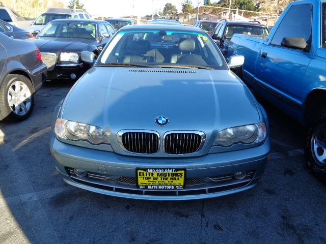 2003 BMW 3 SERIES 330CI 2DR COUPE gray green metallic sport package premium package metallic pain