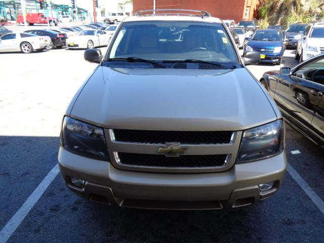2007 CHEVROLET TRAILBLAZER LS 4DR SUV gold leather moon roof grille color - chromefront air con