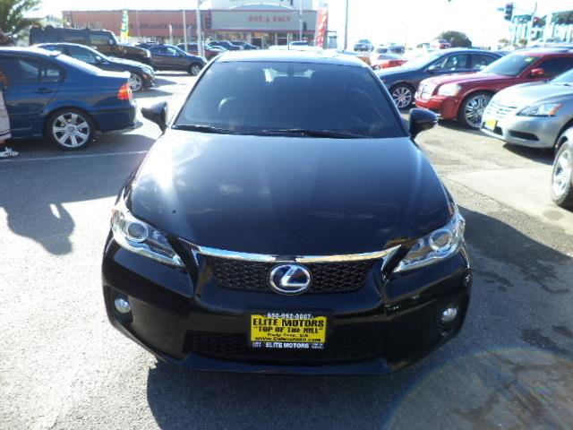 2012 LEXUS CT 200H F SPORT obisidan f sport package navigation backup camera bluetooth heated