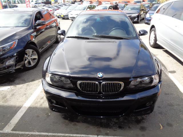 2004 BMW M3 BASE 2DR COUPE carbon black metallic metallic paintrear spoileraluminumalloy inter