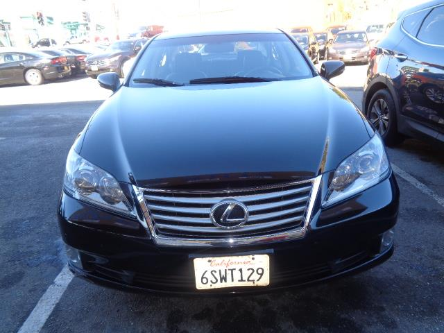 2011 LEXUS ES 350 BASE 4DR SEDAN black leather navigation backup camera moon roof child safety