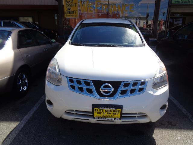 2011 NISSAN ROGUE S 4DR CROSSOVER pearl white rear spoiler - rooflinebody side moldings - chrome