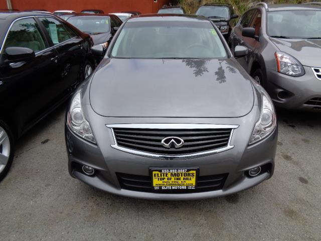 2013 INFINITI G37 SEDAN SPORT 4DR SEDAN diamond graphite rare 6 speed manual navigation brembo
