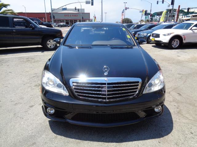 2007 MERCEDES-BENZ S-CLASS S65 AMG 4DR SEDAN black twin turbo v12 grille color - chromedesigno e