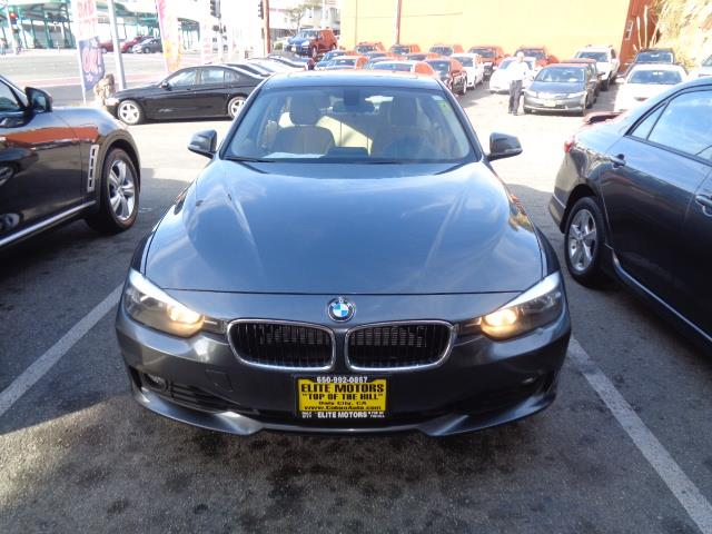 2013 BMW 3 SERIES 328I 4DR SEDAN SULEV SA grey door handle color - body-colorexhaust tip color -