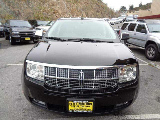 2007 LINCOLN MKX BASE 4DR SUV black navigation dvd system heated and cooled seats front license